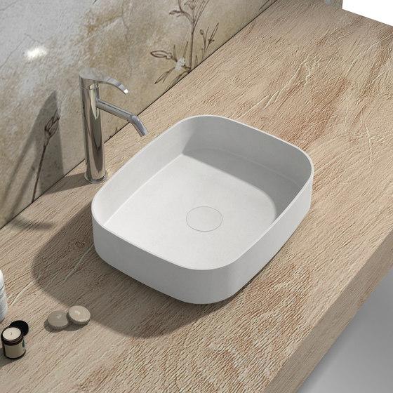 SOLID SURFACE   Marigold Solid Surface Countertop Washbasin by Riluxa   Wash basins