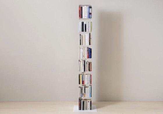 TEEtem 8 levels White Column storage by Teebooks | Shelving