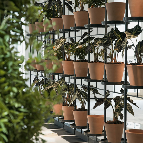 TEEpots Plant Stand Room Divider by Teebooks   Flower displays