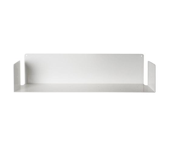 U White Floating Wall Shelf by Teebooks | Shelving