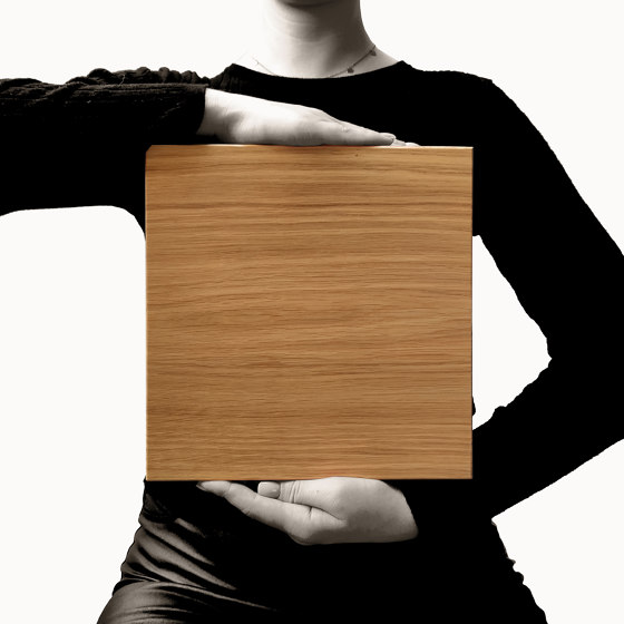Flat Square by Form at Wood   Wood tiles