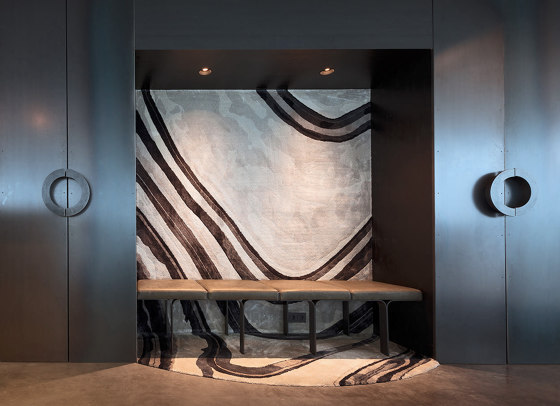Project Move Slow  | A'dam Toren with Move Slow by Tank Amsterdam by Frankly Amsterdam | Rugs