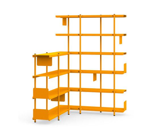 Z shelf by modulor | Shelving