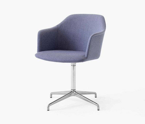 Rely HW40 Polished Aluminium w. Re-Wool 658 by &TRADITION | Chairs
