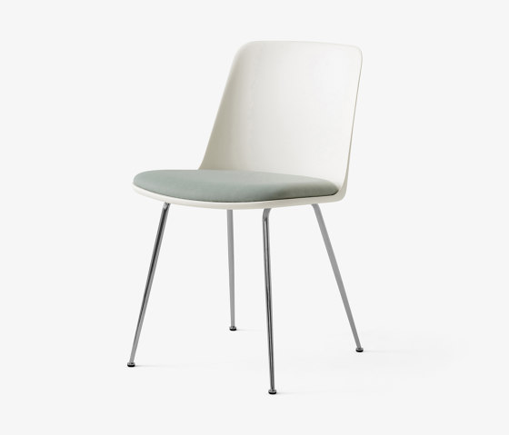 Rely HW7 Chrome w. White & Relate 921 by &TRADITION | Chairs