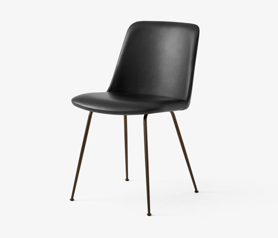Rely HW8 Black w. Black Silk Leather by &TRADITION | Chairs