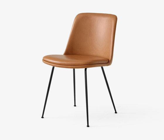 Rely HW9 Black w. Cognack Silk Leather by &TRADITION | Chairs