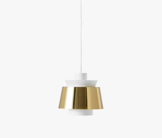 Utzon JU1 White & Brass by &TRADITION   Suspended lights
