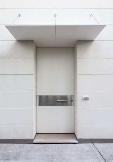 Tekno   The safety door with concealed hinges by Oikos – Architetture d'ingresso   Entrance doors