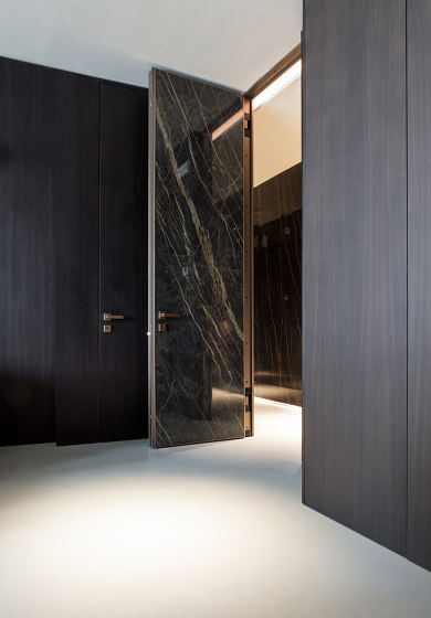 Project   Interior safety door with concealed hinges by Oikos – Architetture d'ingresso   Internal doors