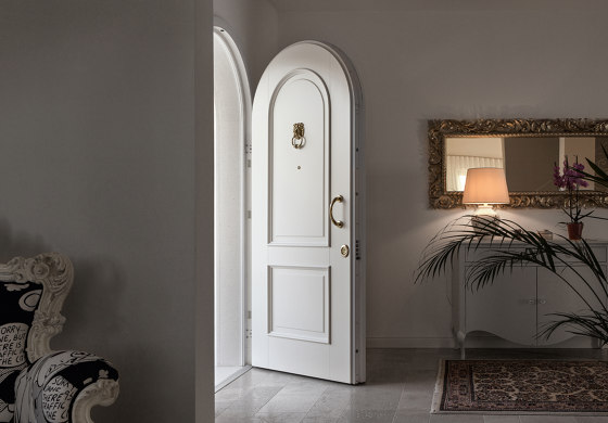 Evolution   The safety door with exposed hinges that meets any request for customization. by Oikos – Architetture d'ingresso   Entrance doors