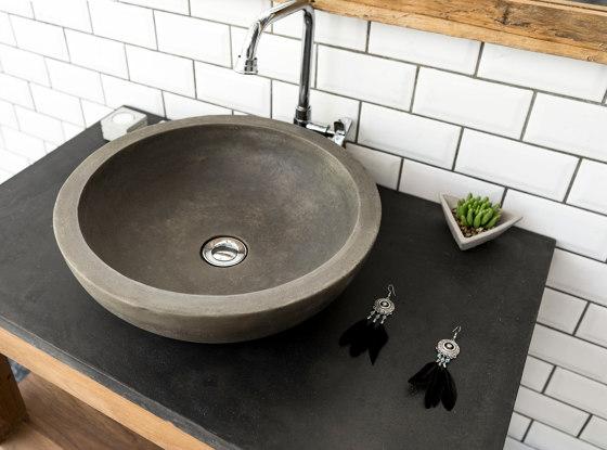 Alba Natural Concrete Basin - Sink - Vessel - Washbasin by ConSpire | Wash basins