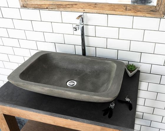 Alghero Natural Concrete Basin - Sink - Vessel - Washbasin by ConSpire   Wash basins