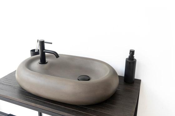 Cieza Dusk Grey Concrete Basin - Sink - Vessel - Washbasin by ConSpire | Wash basins