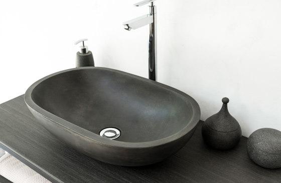 Novara Dusk Grey Concrete Basin - Sink - Vessel - Washbasin by ConSpire   Wash basins