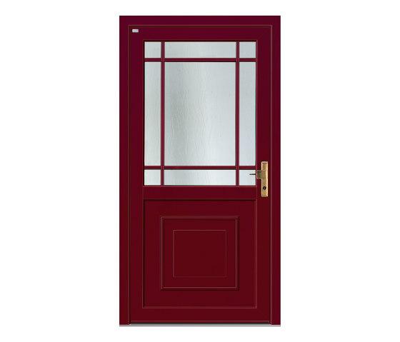 Aluminum clad wood entry doors   History Type 1205 by Unilux   Entrance doors