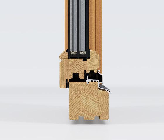 Wooden windows | Wooden Meister window rustic by Unilux | Window types