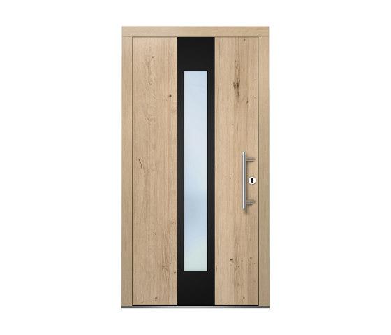 Wooden entry doors | ExclusivLine Model 2401 by Unilux | Entrance doors