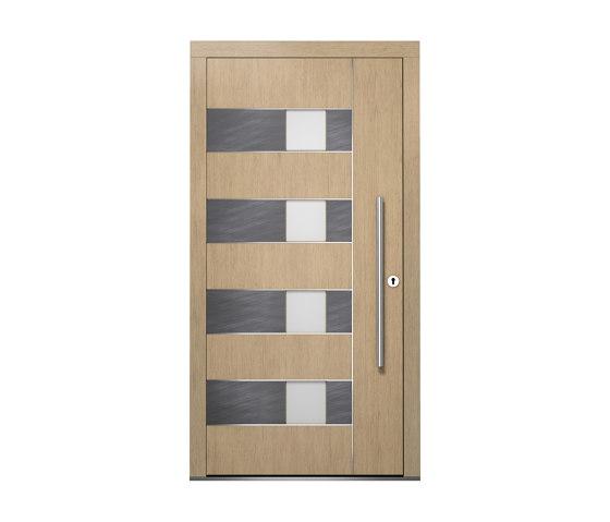 Wooden entry doors | ExclusivLine Model 2406 by Unilux | Entrance doors