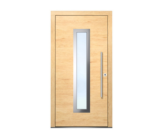 Wooden entry doors   HighLine Model 2111 by Unilux   Entrance doors