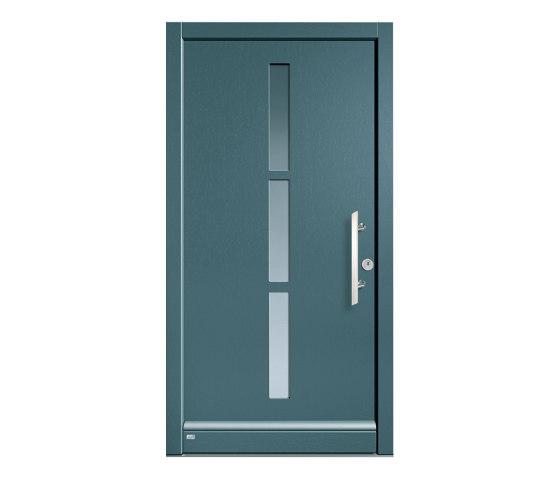 Wooden entry doors   HighLine Model 2112 by Unilux   Entrance doors