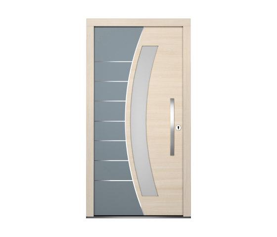 Wooden entry doors | HighLine Model 2114 by Unilux | Entrance doors