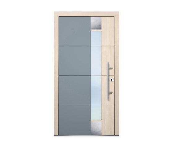 Wooden entry doors   HighLine Model 2116 by Unilux   Entrance doors