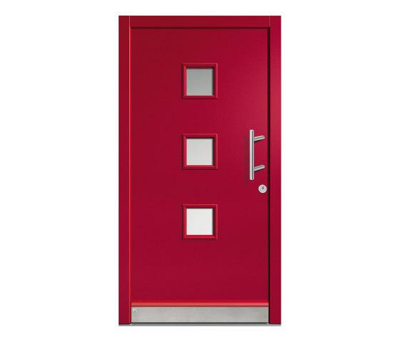 Wooden entry doors | HighLine Model 2128 by Unilux | Entrance doors