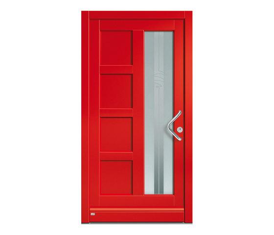 Wooden entry doors   HighLine Model 2206 by Unilux   Entrance doors