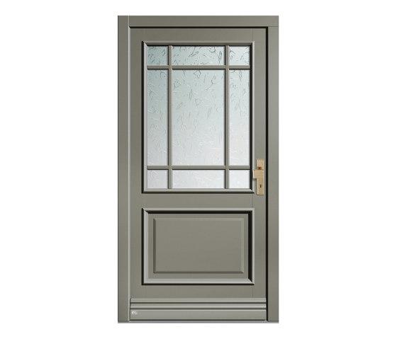Wooden entry doors | HighLine Model 2212 by Unilux | Entrance doors