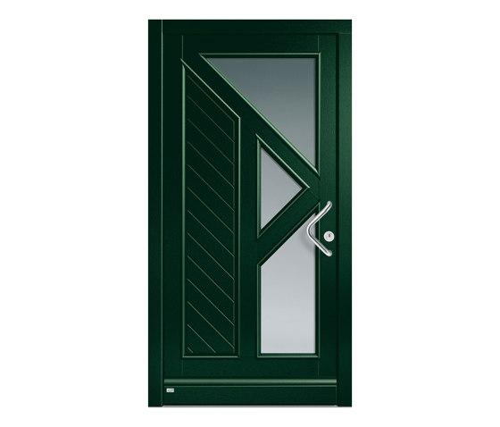 Wooden entry doors | HighLine Model 2222 by Unilux | Entrance doors