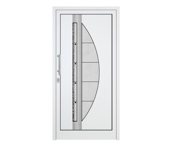 uPVC entry doors   IsoStar Model 7117 by Unilux   Entrance doors