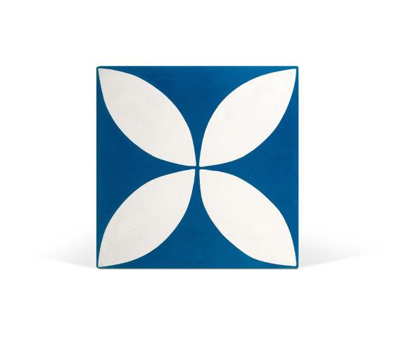 Decorative Cement Tile | Flower by Eso Surfaces | Concrete tiles