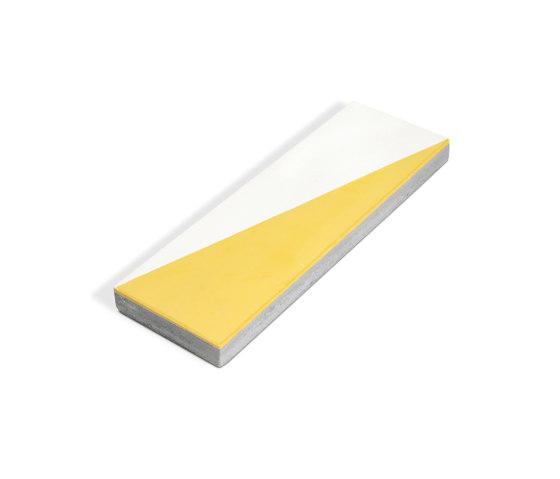 Decorative Cement Tile | Diagonal Rectangle by Eso Surfaces | Concrete tiles