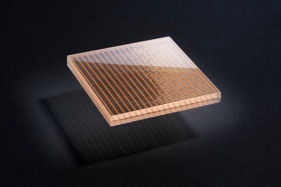 Glam Metallics   Damier_Copper by S-Plasticon   Decorative glass