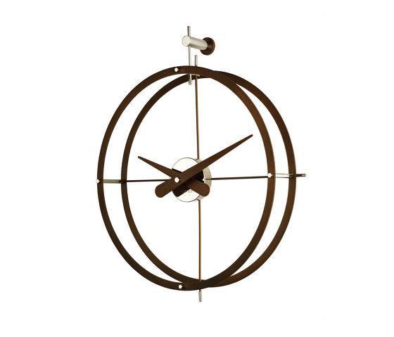 Dos Puntos Wall Clock by Nomon   Clocks