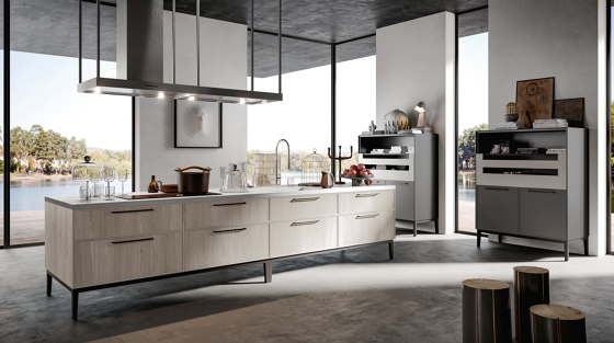 Kitchen Aria 01 by Arredo3 | Fitted kitchens