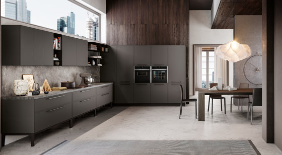 Kitchen Aria 04 by Arredo3   Fitted kitchens