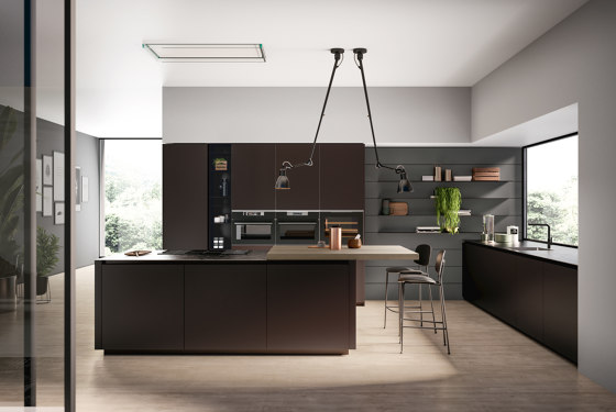 Kitchen Glass 02 by Arredo3 | Fitted kitchens