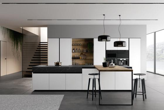 Kitchen Glass 06 von Arredo3   Einbauküchen