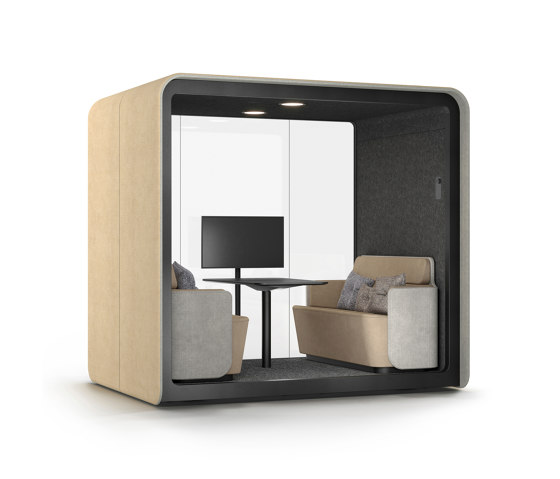 PodBooth Meeting with open front by Martela | Office Pods