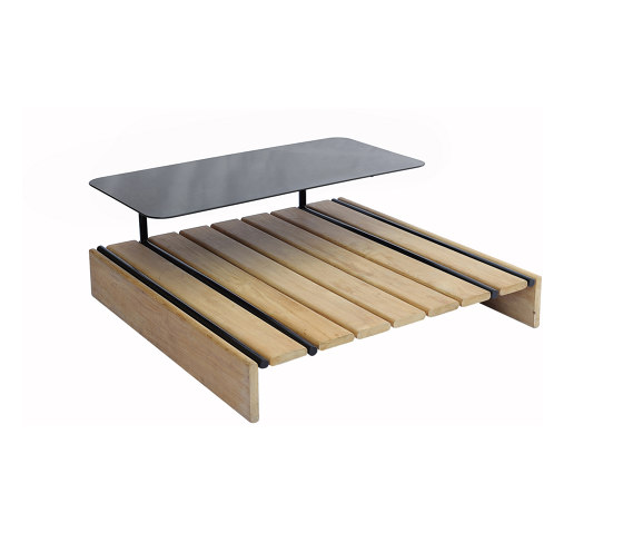 Casual Modular Square Coffee Table/Stool With Tray by cbdesign | Coffee tables