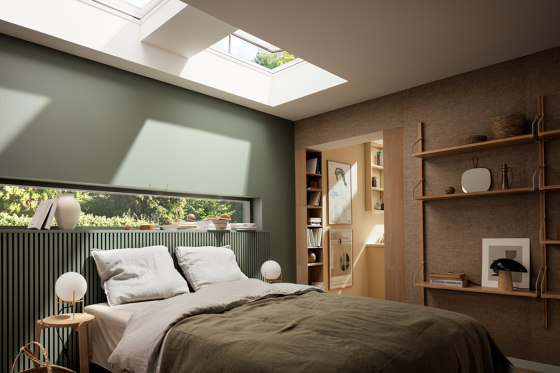 Electrical CVU-ISU (Curved vented- electrical) by VELUX Group | Window types