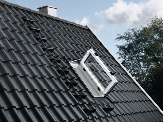 VELUX side-hung roof exit window GXU by VELUX Group   Window types