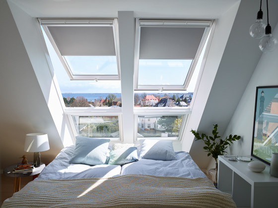 VELUX sloping extension window element GIU -Ideal for bathroom and kitchens by VELUX Group | Window types