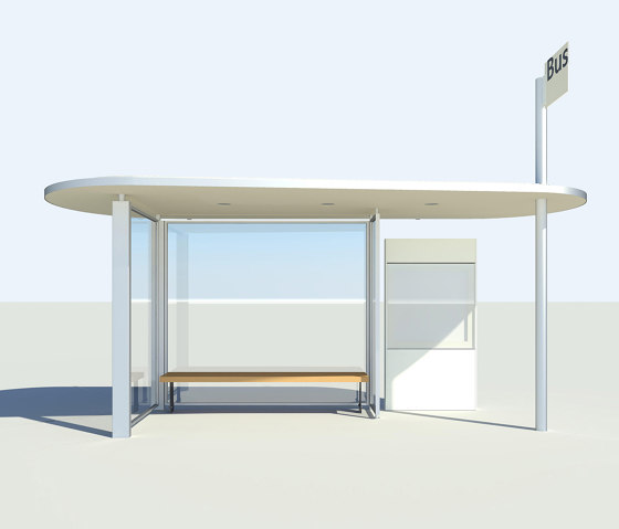 HSI TWO by BURRI | Bus stop shelters