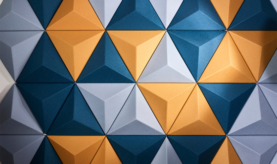 3D Tiles by Autex Industries | Synthetic panels