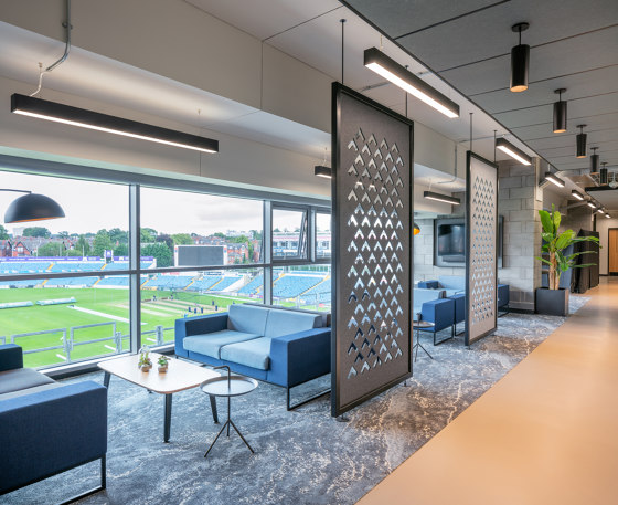 Cascade™ by Autex Industries | Sound absorbing room divider