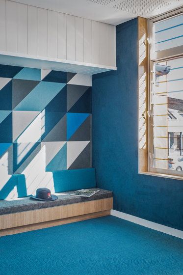 Composition® Peel 'n' Stick Tiles by Autex Industries | Synthetic panels
