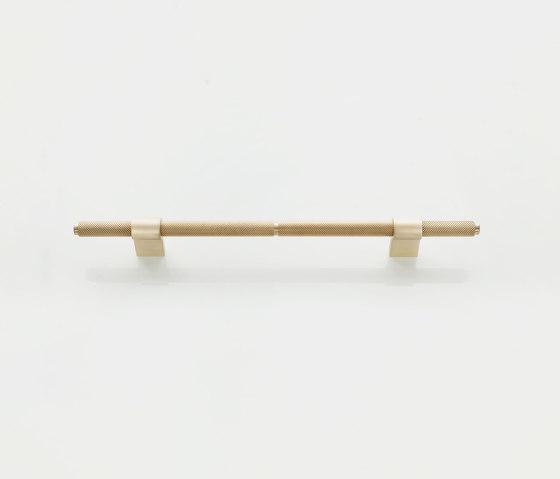 Furniture Handle WCM3   The H Brass matt by Craftvoll   Cabinet handles